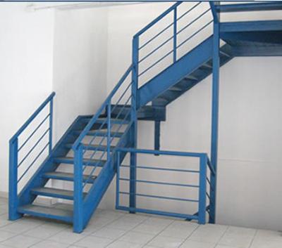 Fabricaci n de carpinteria metalica y cristaleria for Gradas metalicas para casas
